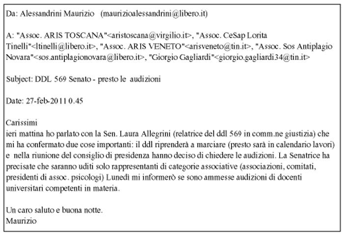 email Alessandrini