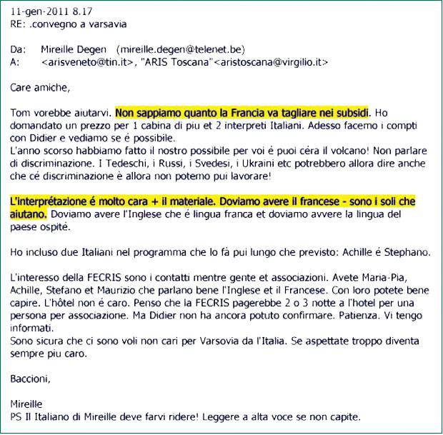 email Mireille Degen