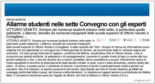 GRIS - Vittorio Veneto