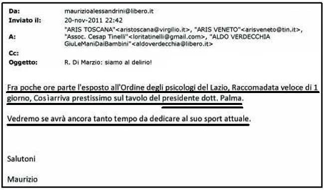 email Alessandrini - Ordine