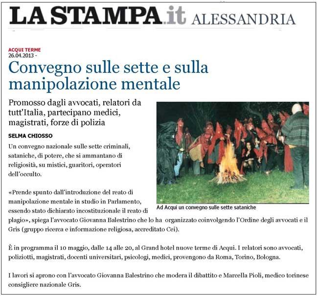 La Stampa - GRIS