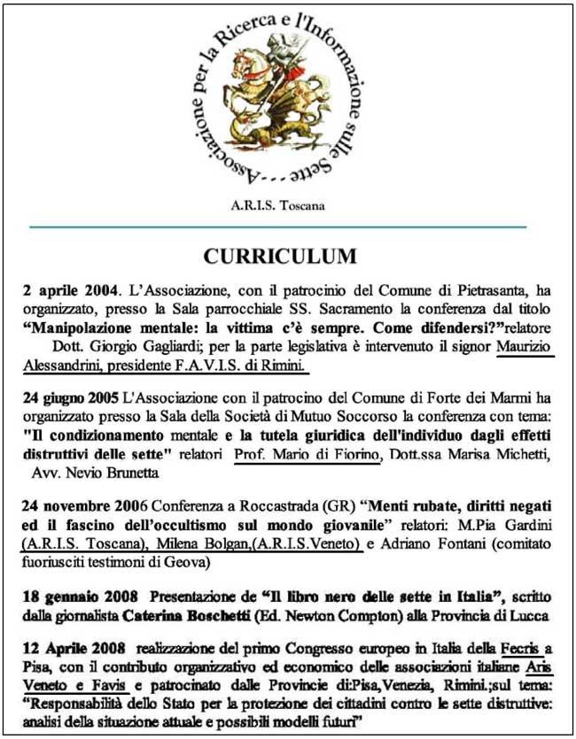 Alessandrini - Di Fiorino - ARIS