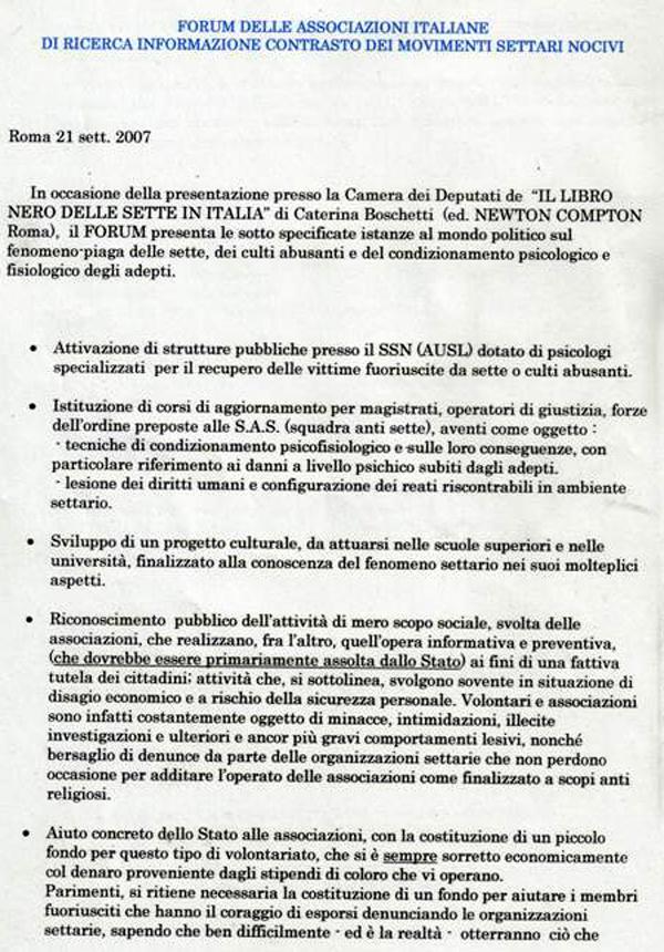 Forum costituzione