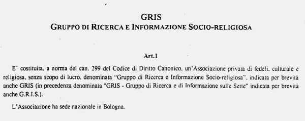 Statuto-GRIS-art1